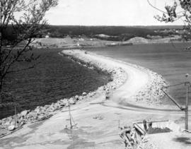 Canso Causeway Under Construction