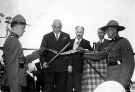 Ribbon Cutting Ceremony, Canso Causeway