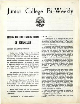 Junior College Bi-Weekly