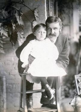 Dr. Lewis Johnstone and Daughter Ethel