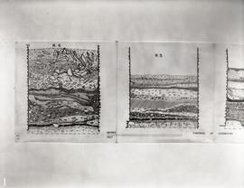 Drawings of right flank casemates, end walls