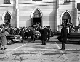 R.C. MacGillvray's Funeral