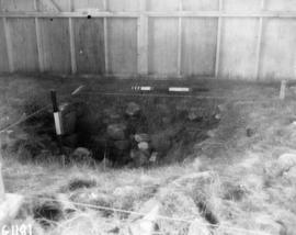 Trench VI, before excavation