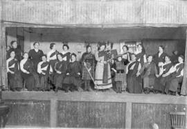 Cast of Gaelic Play, Glace Bay