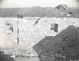 North East wall reconstruction