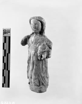 Ivory statuette, 3/4 view, front