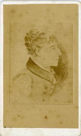 Sketch of a Portrait of a Man