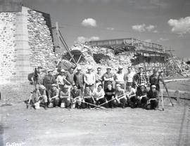 Crew of Surveyors, Department of Northern Affairs