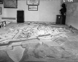 Whole model, citadel in center