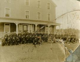 94th Argyll Highlanders at Marconi Station, Louisbourg
