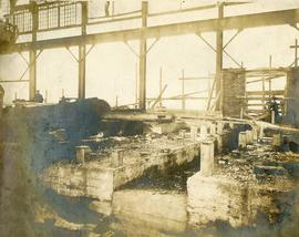 Dominion Iron and Steel Co., Sydney, Construction