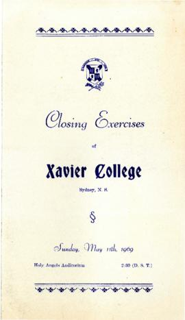Program for 1969 Closing Excercises