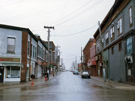 """The Bay Boy"" Street Scene, Glace Bay"