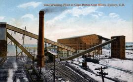 Coal Washing Plant at Cape Breton Coal Mines, Sydney