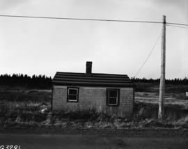 John Whitehood's home at West Louisbourg, facing West