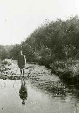Standing in stream