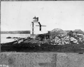 Copy of photo of Lighthouse, 1842-1923
