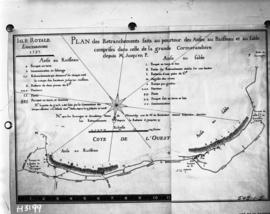 Copy of Isle Royale plan of 1757