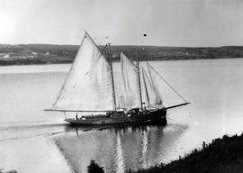 "The Schooner, ""Hazel Bill"""
