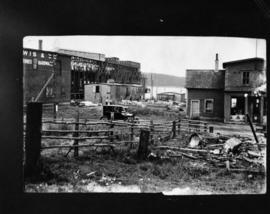 Town of Louisbourg, showing early 1900s coal pier