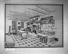 Wash drawings, la cuisine