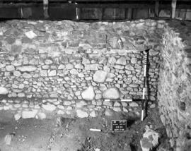 Northeast wall, right half