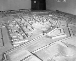 Whole town model in Museum