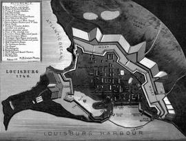 Plan of Louisbourg