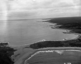 White point and French earthworks looking towards Kennington Cove