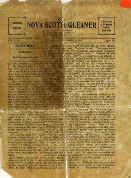 The Nova Scotia Gleaner