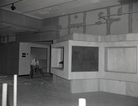 Temporary reception centre (interior)