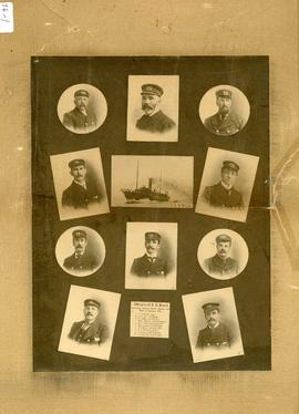 Officers of the S.S. Bruce