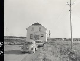 Home owned by Paul Bates being moved from West Louisbourg