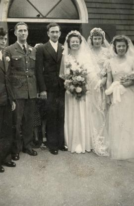 Wedding of Bill and Agnes