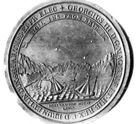 Seal of Cape Breton Island, George III