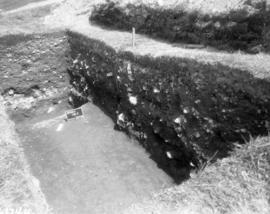 Trench T, Southwest point of English starfort