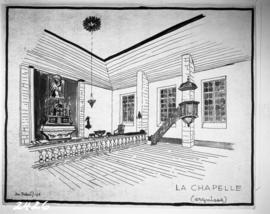 Wash drawings, la chapelle