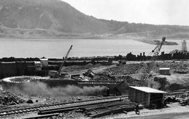 Canso Causeway Construction