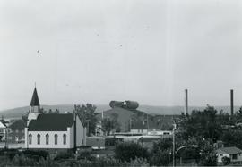 St. Mary's Polish Church and the Steel Plant