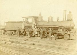 Railroad Engine, C.W.R.
