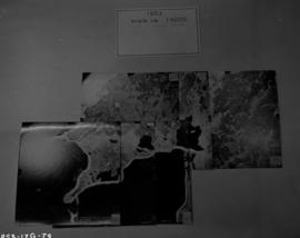 Aerial photo, mosaic, 1953 X262 series