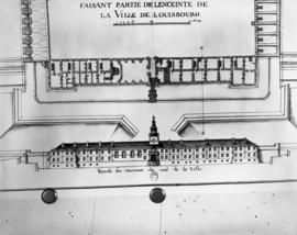 Copy of floor plan of Chateau (1729)