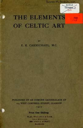 The Elements of Celtic art