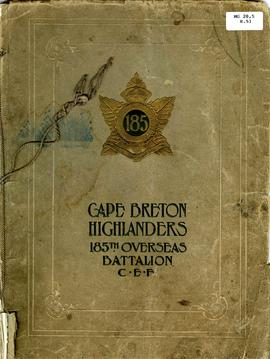 Cape Breton Highlanders 185th Overseas Battalion C.E.F.