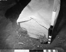 Northeast end of coffin burial #2