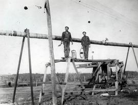 Men on Scaffolding at Dominion #6