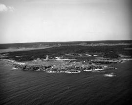 Aerial photograph, Louisbourg Ligthouse