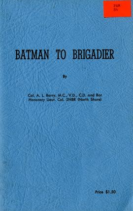 Batman to brigadier