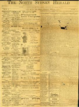 The North Sydney Herald February 5, 1902