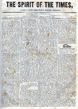 Spirit of the Times August 9, 1844